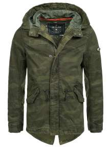 Men Winter Army Jacket Howahkan