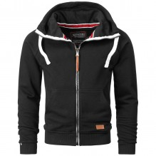 Men Hooded Sweatjacket Brian